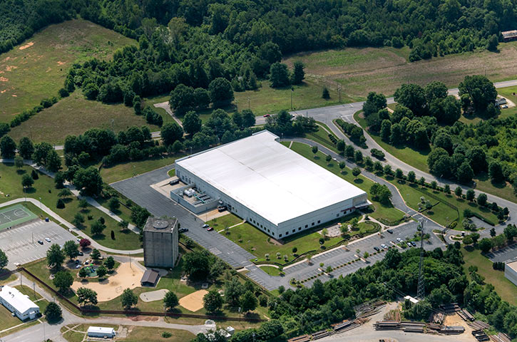 Aerial of 115 Business Park in Winston-Salem, NC