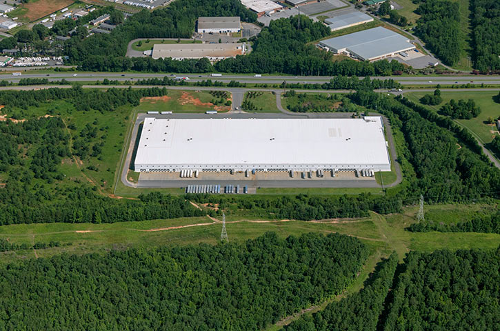 Aerial of 120 Woodlake in Kings Mountain, NC