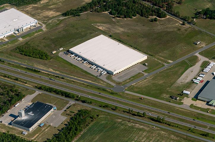 Aerial of 148 Sportsman Drive in Hamlet, NC