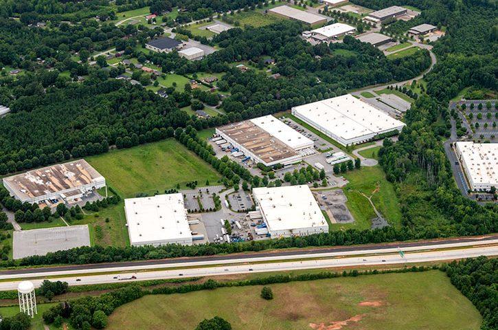 Aerial of 294 John Martin Road in Spartanburg, SC