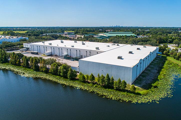 Aerial of 3001 Gateway Center Parkway in Pinellas Park, FL