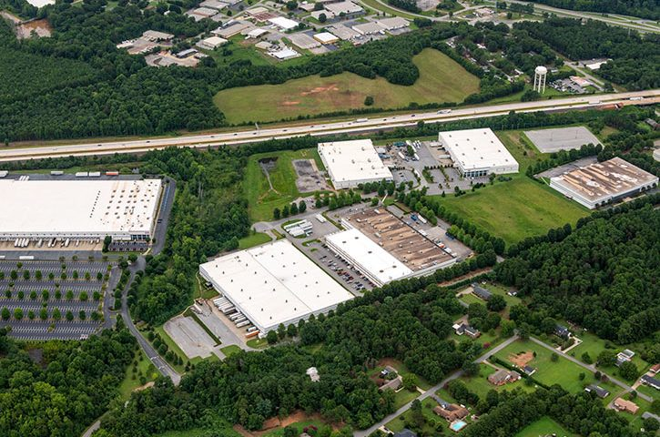 Aerial of 304 John Martin Road in Spartanburg, SC