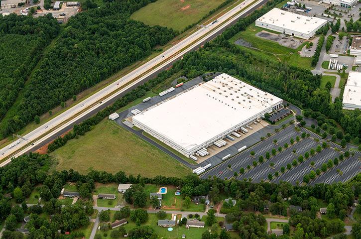 Aerial of 525 Dunnett Court in Spartanburg, SC