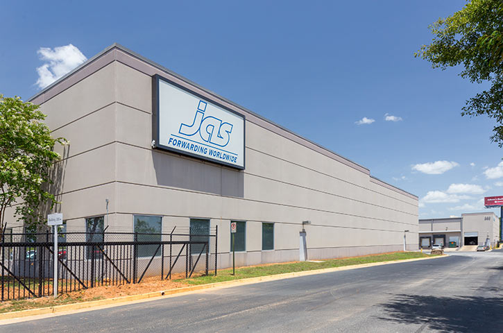 Exterior of Air Commerce Business Park in College Park, GA