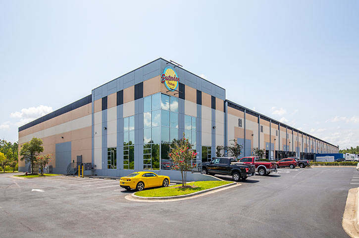 Exterior of First Coast Distribution Center in Jacksonville, FL