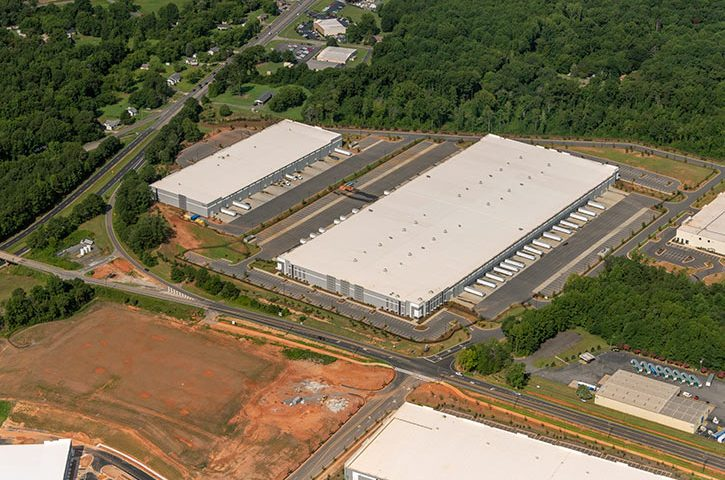 Aerial of Legacy Park West in Rock Hill, SC