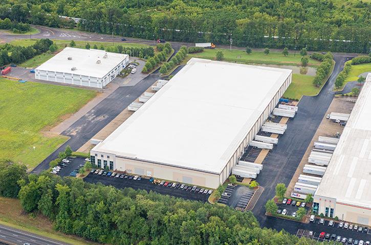 Aerial of Moody Commerce Park Two in Birmingham, AL