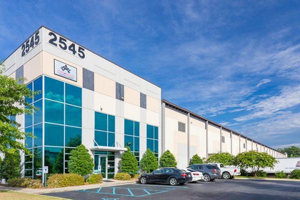 Exterior of Moody Commerce Park Two in Birmingham, AL