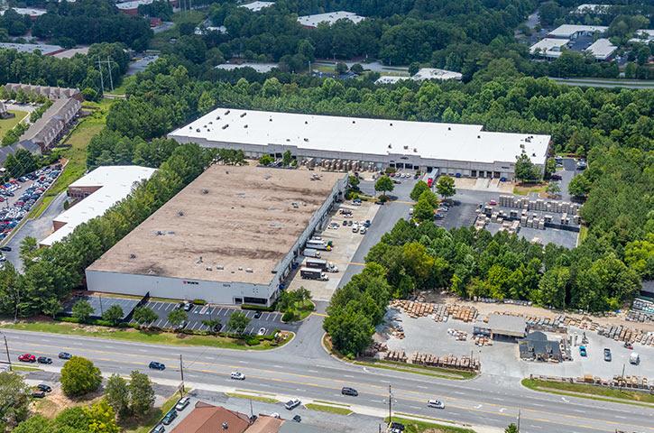 Aerial of North Atlanta Distribution Center 100 in Atlanta, GA