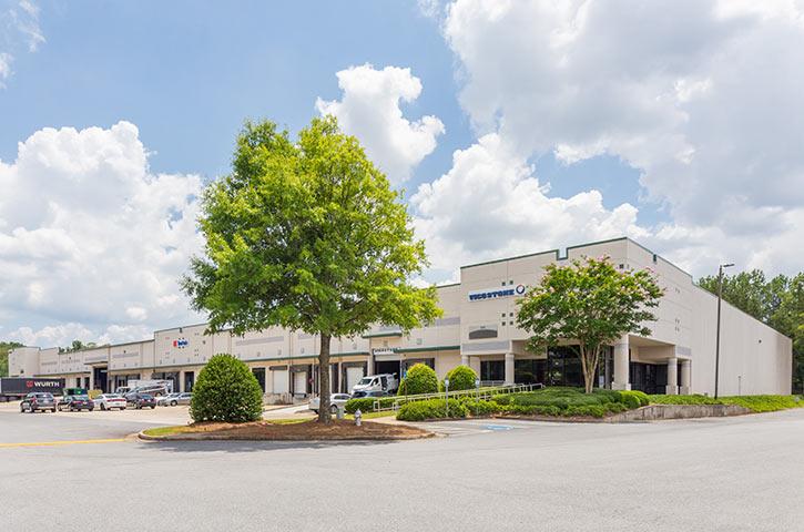 Exterior of North Atlanta Distribution Center 100 in Atlanta, GA