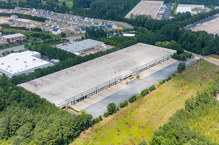 Aerial of Progress Distribution Center 1 in Lawrenceville, GA