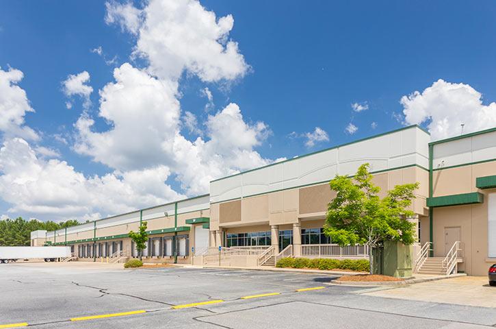 Exterior of Progress Distribution Center 1 in Lawrenceville, GA