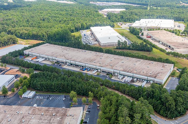 Aerial of Progress Distribution Center 2 in Lawrenceville, GA