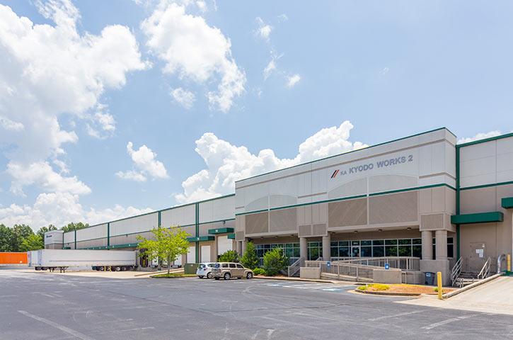 Exterior of Progress Distribution Center 2 in Lawrenceville, GA