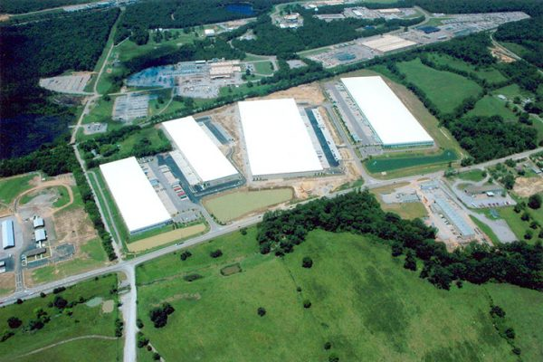 Aerial of Shelby Commerce Park Five in Birmingham, AL