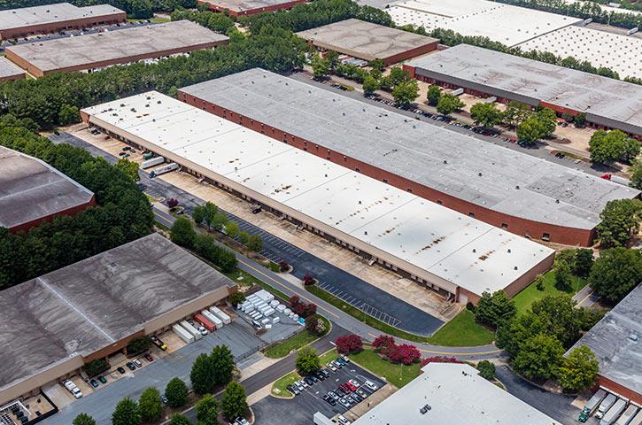 Aerial of Westpark in Atlanta, GA